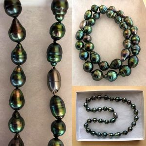 Tahitian South Sea Pearl Necklace (32 pc)